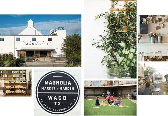 Spring at the Silos! Stay in a famous house! Shop Magnolia!