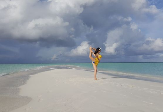 Yoga Wellness retreat in Maldives