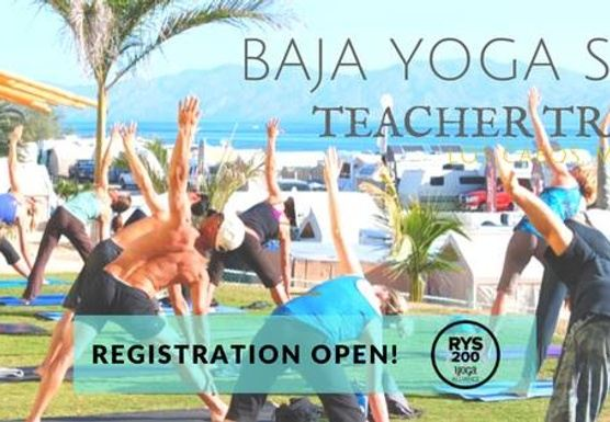 200 Hour Yoga Alliance, Baja Yoga School