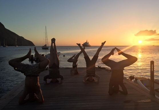 St. Lucia Yoga Getaway with Charlie The Yogi
