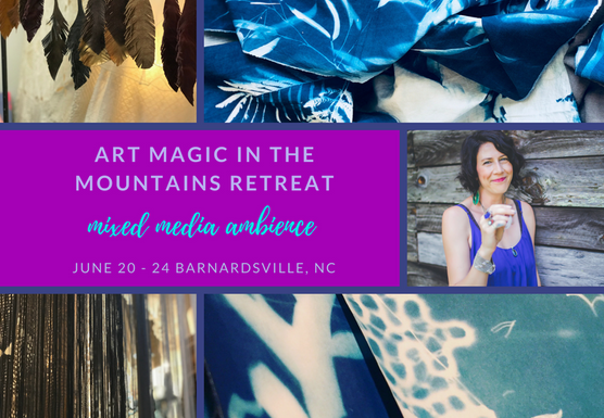 ART MAGIC IN THE MOUNTAINS