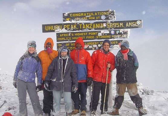 On Top of Africa Mt. Kilimanjaro