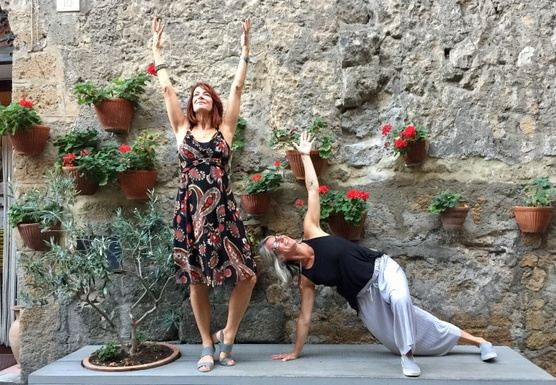 Yoga Bella Springtime in Umbria 2019