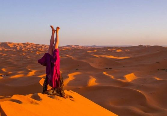 Sahara Yoga and Joy of Dance Retreat