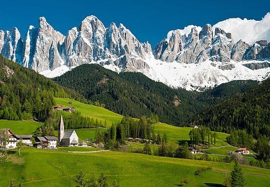 Alpine Italy...South Tyrol/Trentino -Italy, Austria & Switzerland