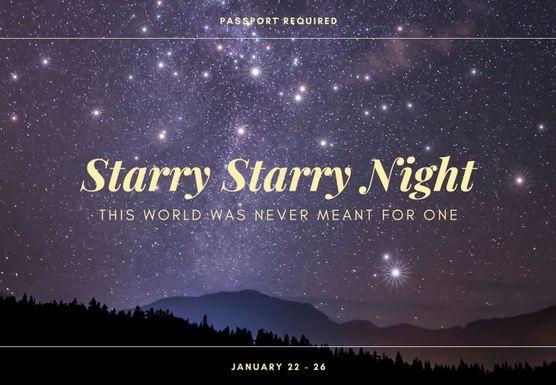 Starry Starry Night: The January Trip