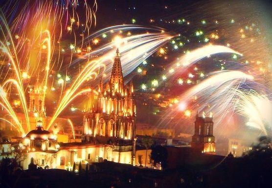 New Year on La Ruta de la Plata (Mexico)