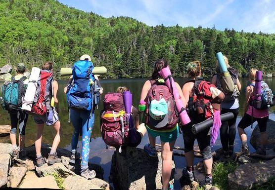White Mountains High Hut Yoga Retreat (Carter Notch)