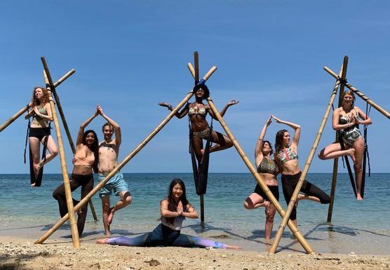 7 Day 50-Hr Aerial Yoga Teacher Training in Thailand