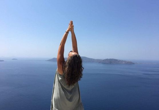 Luxury Yoga Sailing Hiking Retrat in magical Santorini