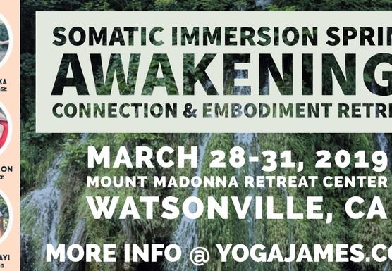Somatic Immersion Spring Awakening ~ Connection & Embodiment Retreat