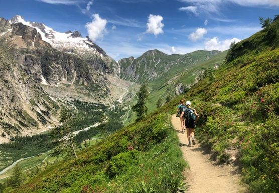 Self-Guided Tour du Mont Blanc Trail Running Vacation