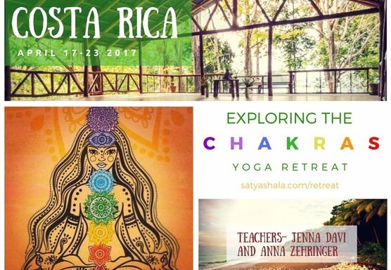 Exploring the Chakras Yoga Retreat
