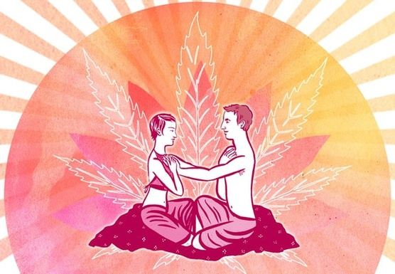 Cannabis Couples Yoga & Massage Valentines Retreat Colorado