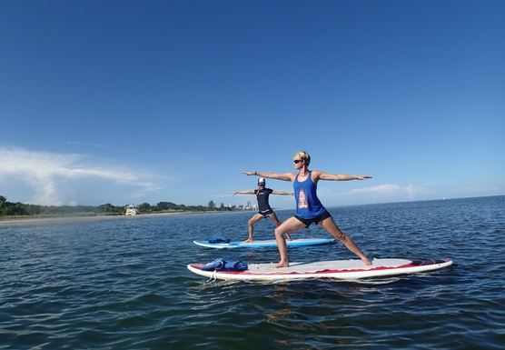 Yoga-Water® Teacher Training, SUP-Yoga & YogaWaterMat® February 2018