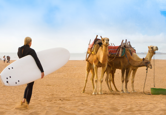 Moroccan Yoga: Surf & Sand Experience with Yogi Jesse Barlow