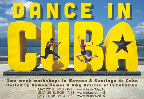 Dance in Cuba! July 2018