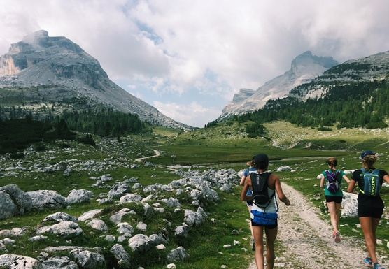 Italian Dolomites Runcation: Hut-to-Hut Trail Running