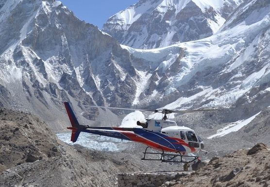 Everest Base Camp Trek Helicopter Return back