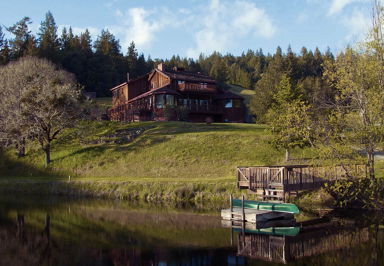 Nature  and Nurture Thanksgiving Yoga Retreat, Mendocino Ranch House