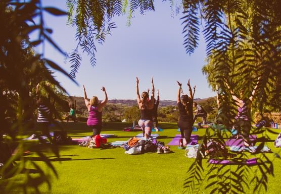 Staycation Yoga Glamping Retreat: Setting Intention for 2018