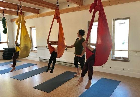 Aerial Yoga Teacher Training: Part 1