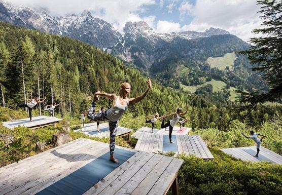 Aerial Yoga Adventure Retreat
