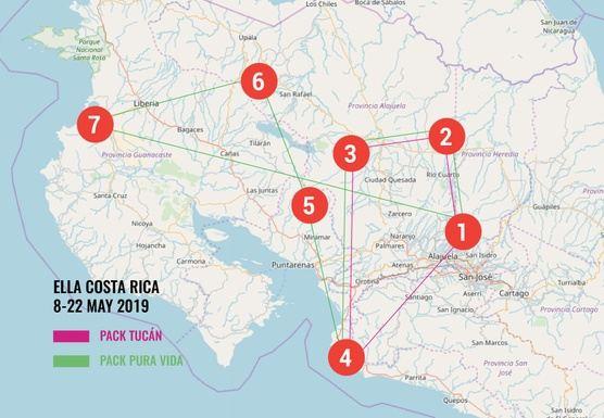 The ELLA trip to Costa Rica!