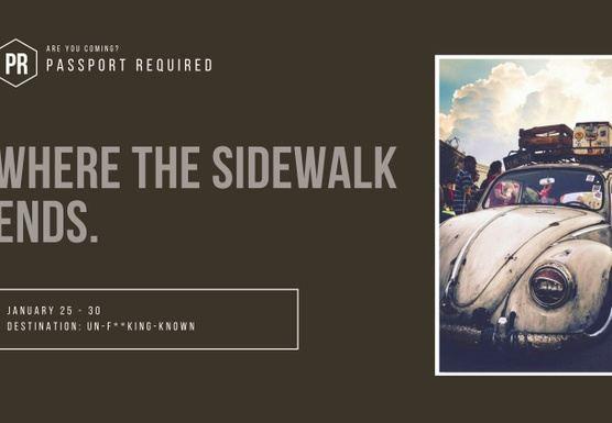 Where The Sidewalk Ends.