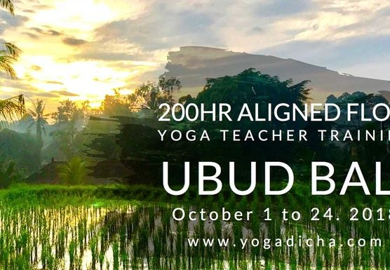 Aligned Vinyasa 200hr Teacher Training in Ubud, Bali