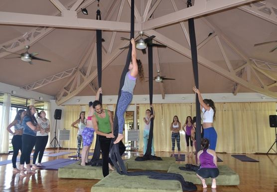 Yoga and Aerial Silks retreat in Costa Rica