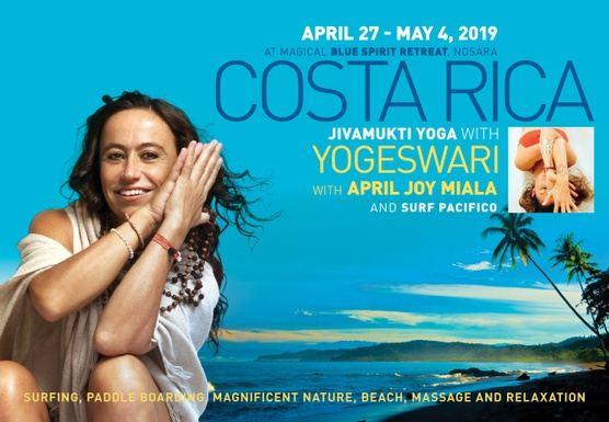 Annual Jivamukti Yoga & Surfing Retreat with Yogeswari and April Joy