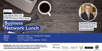 Business Network Lunch - October