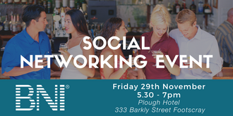 BNI Melbourne North Social Event
