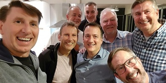 The Men's Table - Christmas Cheer and Cheeky Feed