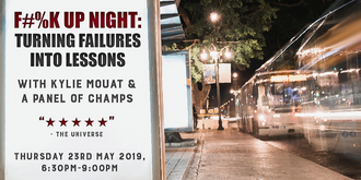 F#%K UP NIGHT: Turning Failures into Lessons