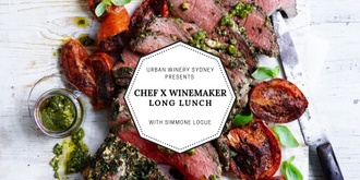 CHEF X WINEMAKER September Long Lunch with Simmone Logue
