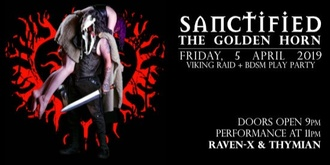 Sanctified Golden Horn Friday the 5th of April for all gender and sexual orientation