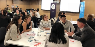 Global work, study, volunteering - find out more at our Speed Date Mentoring event