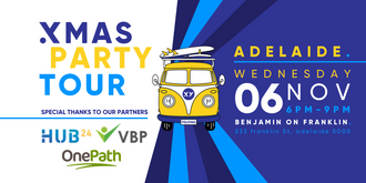 XMAS PARTY Tour Adelaide - 6th November