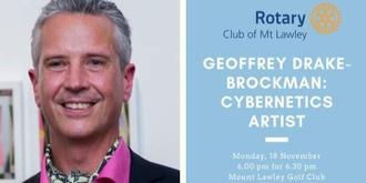 Geoffrey Drake-Brockman on Cyberkinetic Art