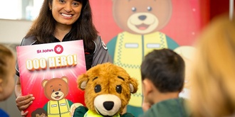 Kids' Central- Early Childhood First Aid with St.Johns Ambulance