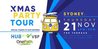 XMAS PARTY Tour Sydney - 21st November