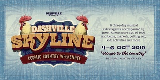 Dashville Skyline - Cosmic Country Weekender 2019