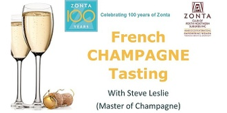 French Champagne Tasting