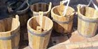 Learn the Art of Coopering (Wooden Bucketmaking), Illawarra Festival of Wood 2019.