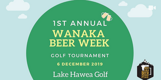 Wanaka Beer Festival Golf Tournament