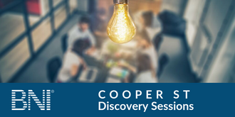 BNI Cooper St Discovery Sessions