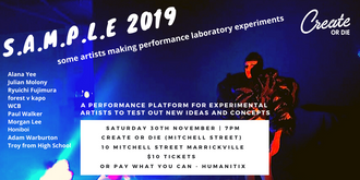 S.A.M.P.L.E - some artists making performance laboratory experiments