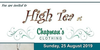 High Tea at Chapman's Fashion
